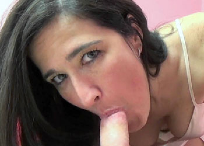 Deliah Dukes gives Logan a blowjob
